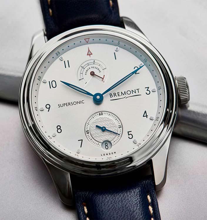Юбилейные часы Bremont Supersonic Limited Edition в честь Конкорда