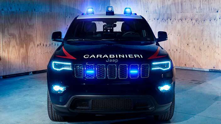 Бронированный Jeep Grand Cherokee Carabinieri