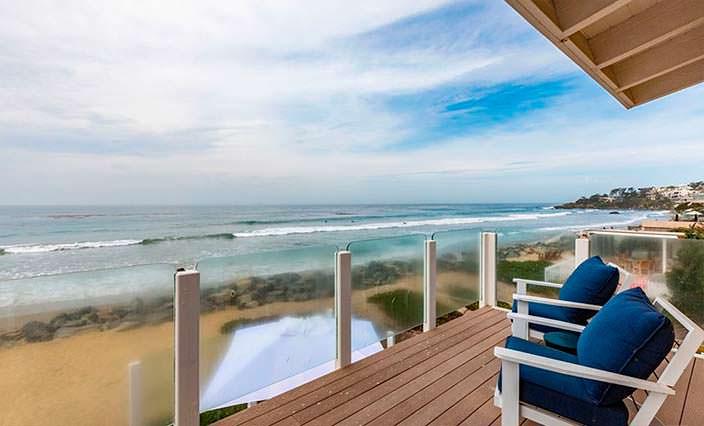 Балкон с видом на океан