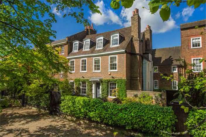 Дом Джеймса Оливера в Лондоне