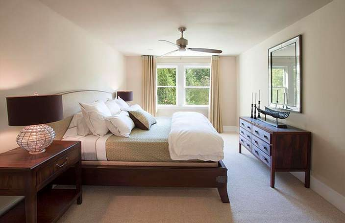 Спальня в доме Николь Кидман