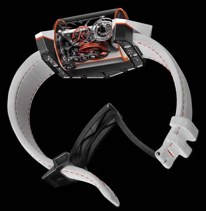 Стеклянные часы за миллион долларов Donimique Renaud DR01