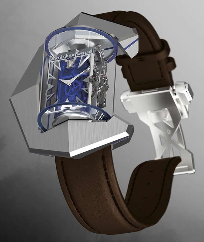 Механические часы за миллион долларов Donimique Renaud DR01