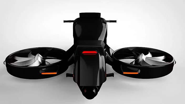 Гиродрон VTOL - мотоцикл для неба