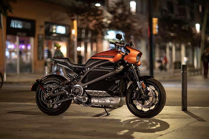 Электро-мотоцикл Harley-Davidson LiveWire