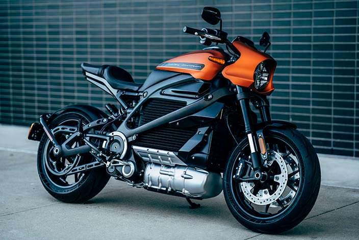 Мотоцикл на батареях Harley-Davidson LiveWire