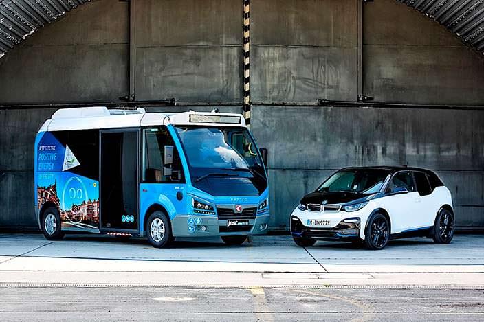 Электроавтобус Karsan Jest на аккумуляторах и моторах от BMW i3