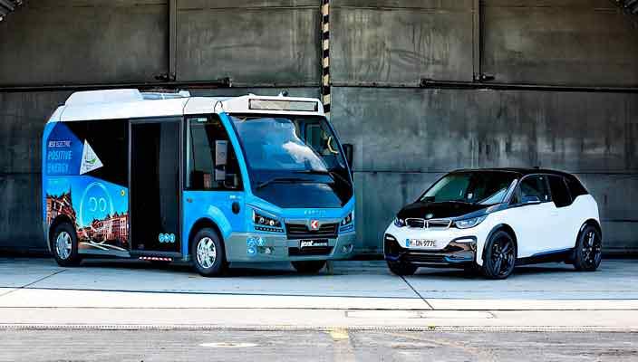 Автобусы Karsan Jest на аккумуляторах и моторах от BMW i3