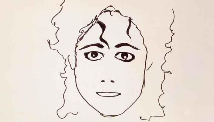 Коллекция рисунков Майкла Джексона продается на аукционе