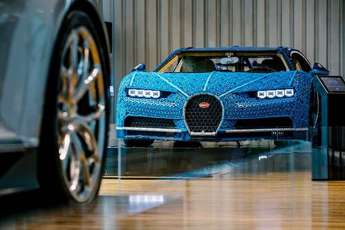 Lego Bugatti Chiron полноразмерная копия Bugatti Chiron