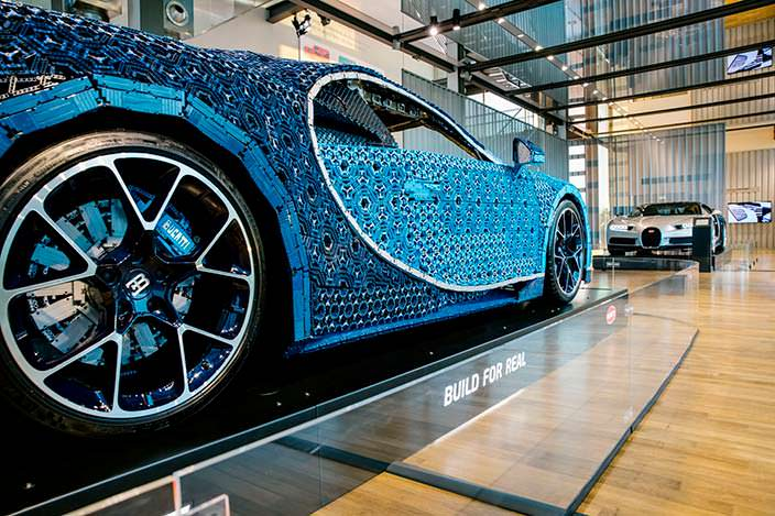 Lego Bugatti Chiron: конструктор весом более 1500 кг