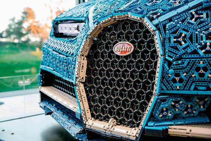 Lego Bugatti Chiron из более 1 млн деталей