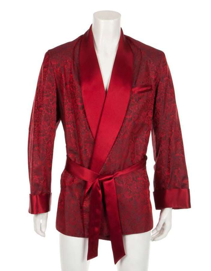 Красный пиджак Хью Хефнера. Цена $5 000