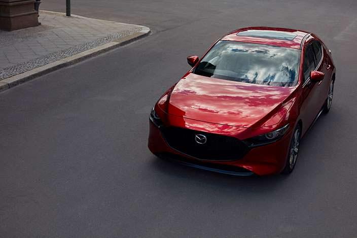 Новая Mazda3 хэтчбек