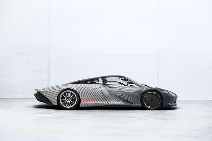 Испытательный прототип McLaren Speedtail Albert