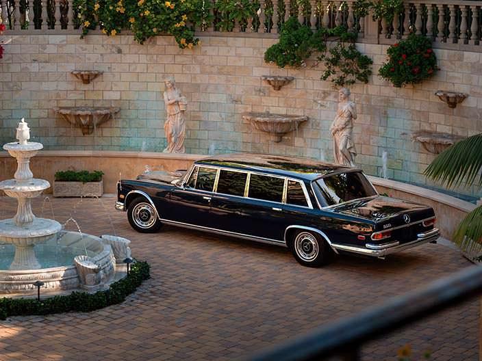 Классический Mercedes-Benz 600 Pullman 1969 года выпуска