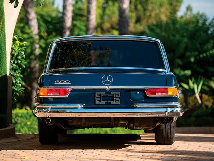 Винтажный Mercedes-Benz 600 Pullman 1969 года выпуска