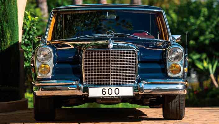 Винтажный Mercedes-Benz 600 Pullman уйдет с молотка | фото