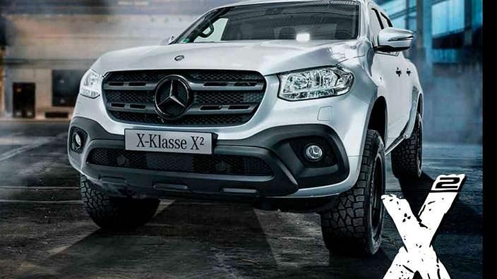 Пикап для бездорожья Mercedes X-Class X²