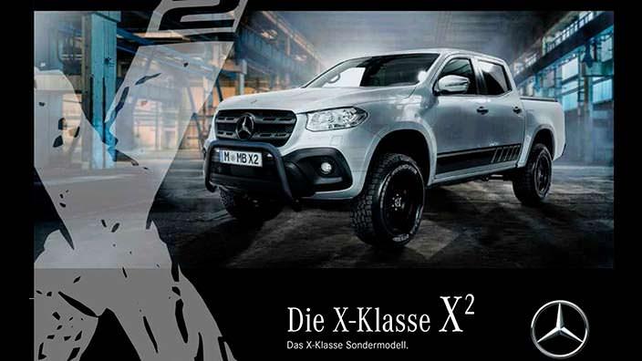 Пикап Mercedes-Benz X-Class X²
