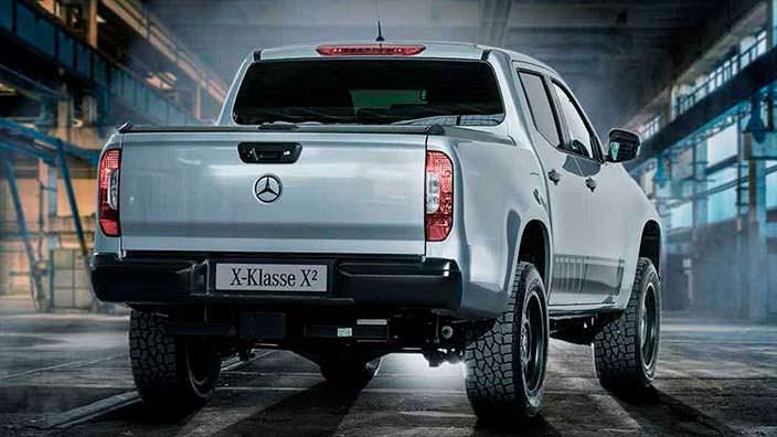 Mercedes X-Class X²: пикап с большим потенциалом для бездорожья