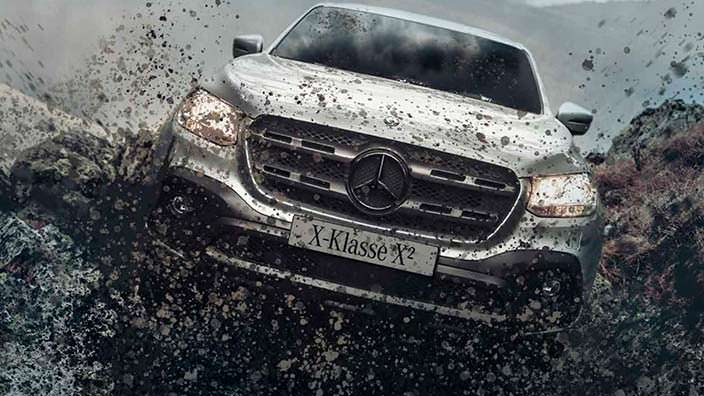 Пикап с клиренсом 300 мм Mercedes X-Class X²