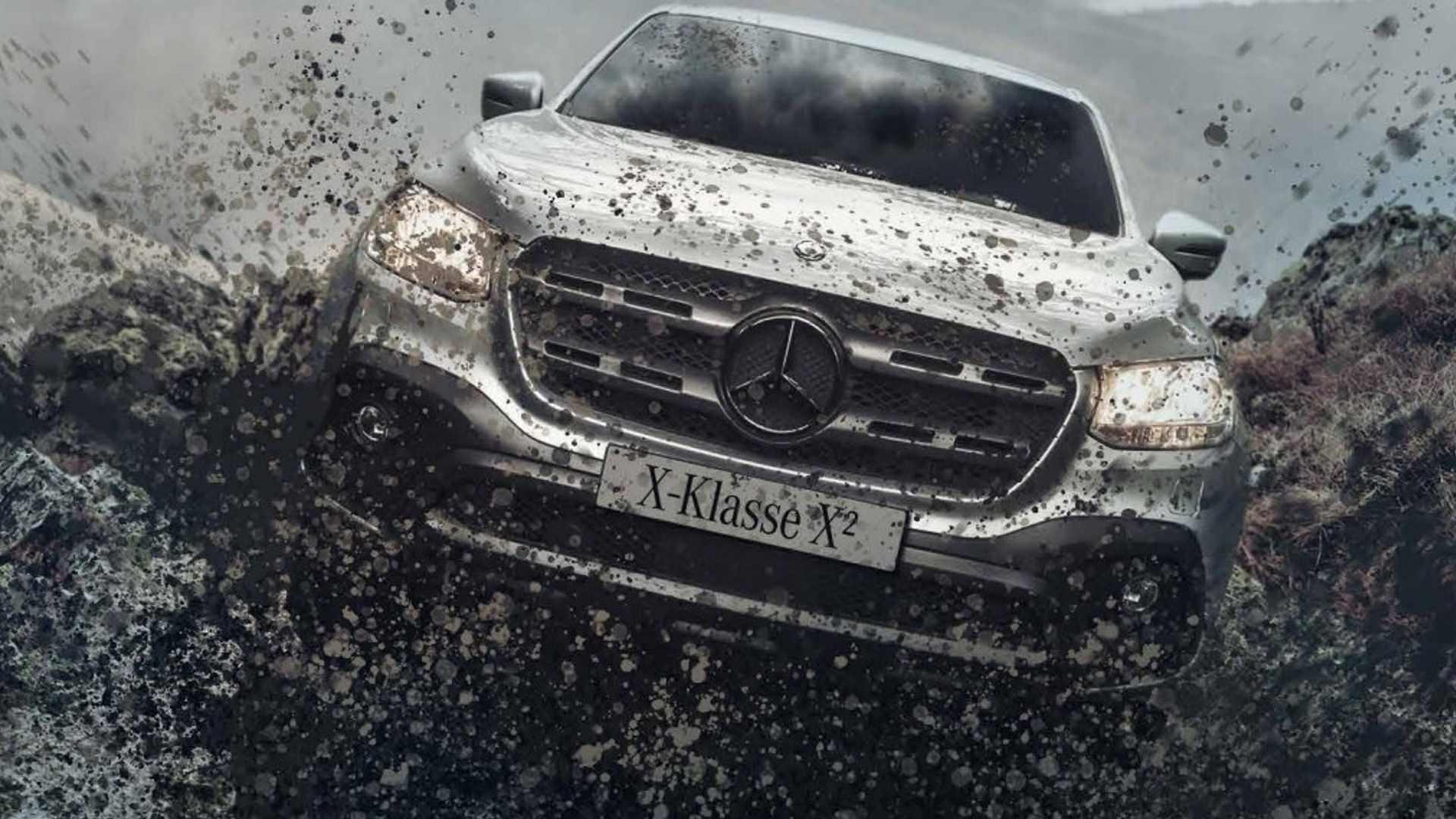 Пикап Mercedes X-Class X² для серьезного бездорожья | фото