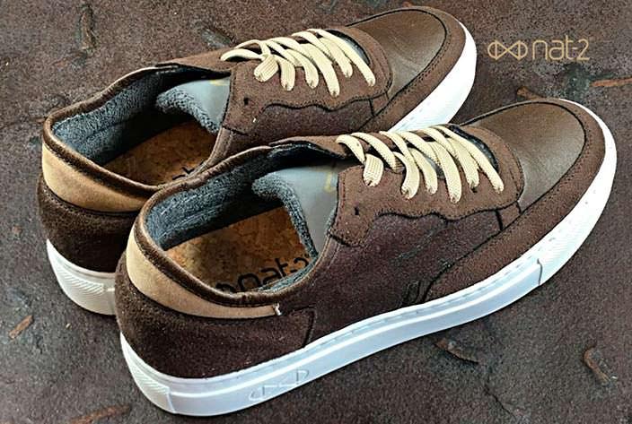 Веганские кроссовки из переработанной кофейной гущи от Nat-2