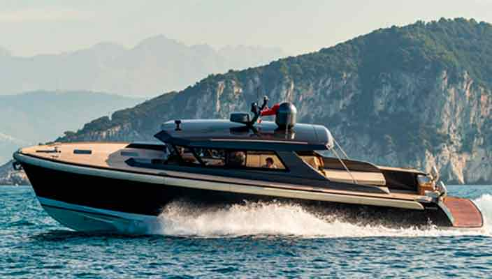 Nauta Design показала новый катер Nauta Tender 48 | фото