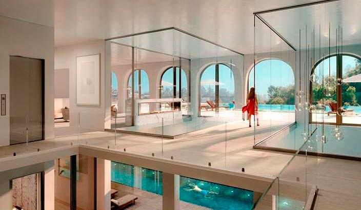 Мега дом в Бель-Эйр с 8 спальнями и 21 ванной комнатой