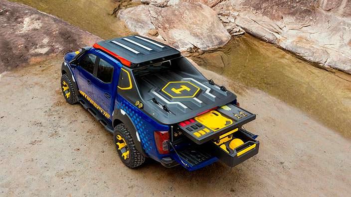 Спасательный пикап Nissan Frontier Sentinel