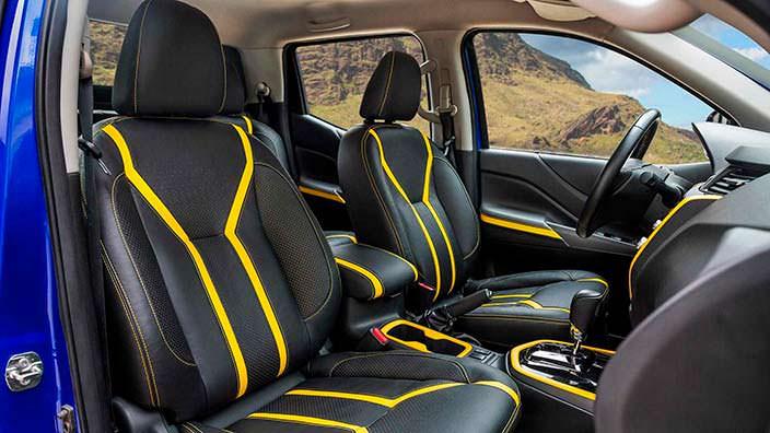 Фото внутри Nissan Frontier Sentinel Concept