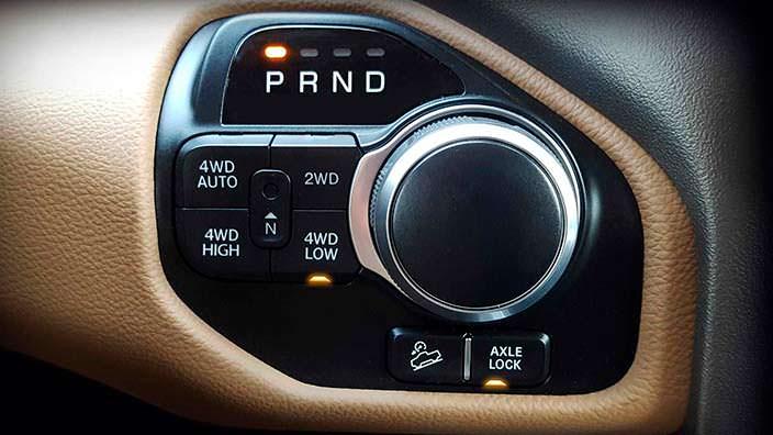 Ram 1500 North Edition с низкой передачей и блокировкой оси