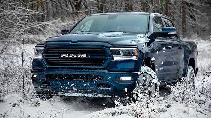 Зимний пикап Ram 1500 North Edition