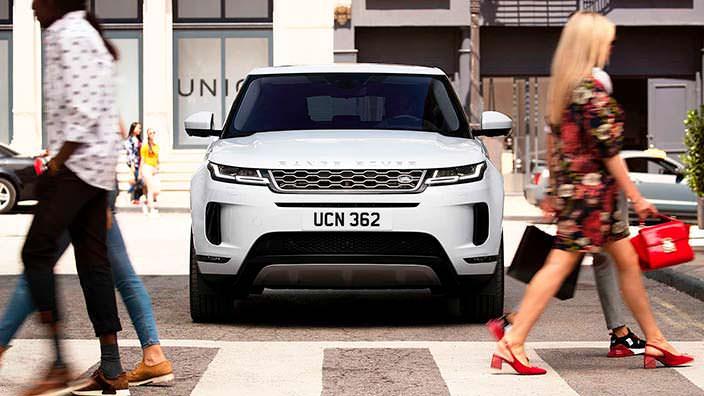 Range Rover Evoque второго поколения