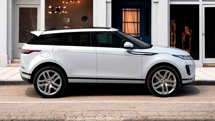 Премиальный кроссовер Range Rover Evoque нового поколения