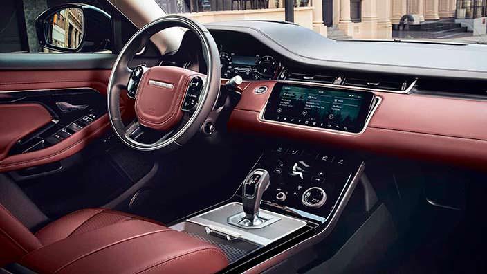 Фото внутри Range Rover Evoque