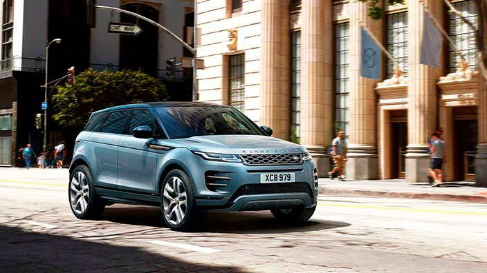 Range Rover Evoque нового поколения