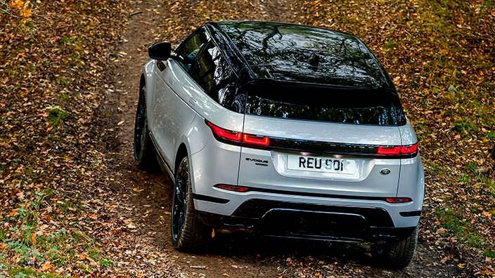 Новый Range Rover Evoque со стандартным полным приводом