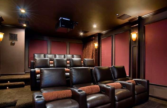Домашний кинотеатр у рэпера Birdman