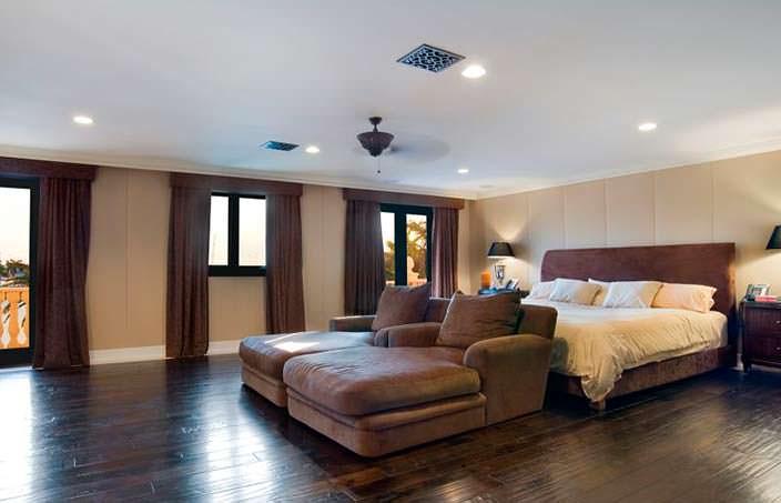 Спальня в доме рэпера Birdman