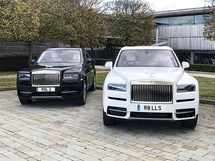 Внедорожник Rolls-Royce Cullinan. Цена около $600 000