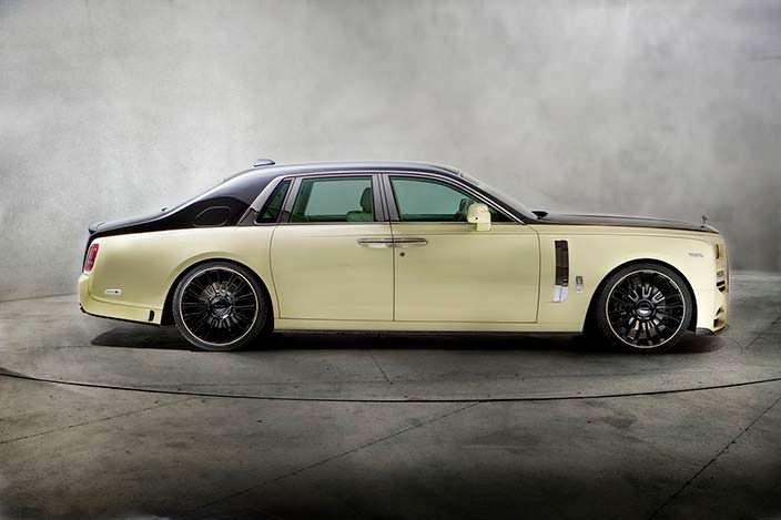 Новый Rolls-Royce Phantom VIII. Тюнинг Mansory