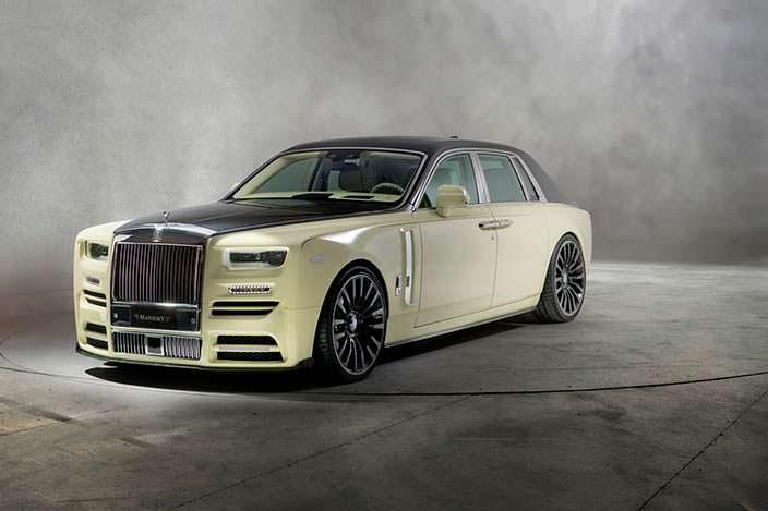 Двухцветный кузов Rolls-Royce Phantom от Mansory
