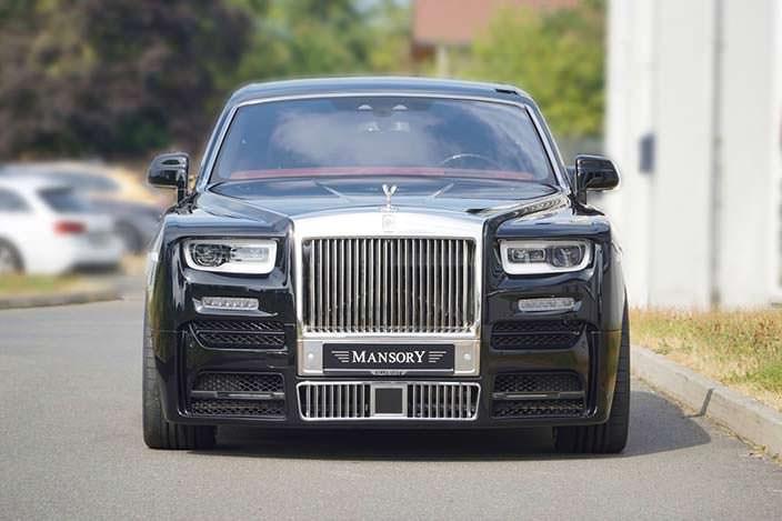 Тюнингованный Rolls-Royce Phantom от Mansory