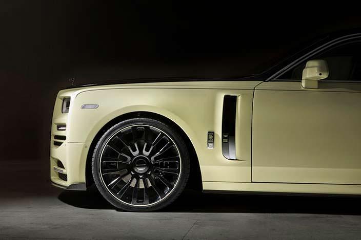Гигантские колесные диски Rolls-Royce Phantom VIII от Mansory