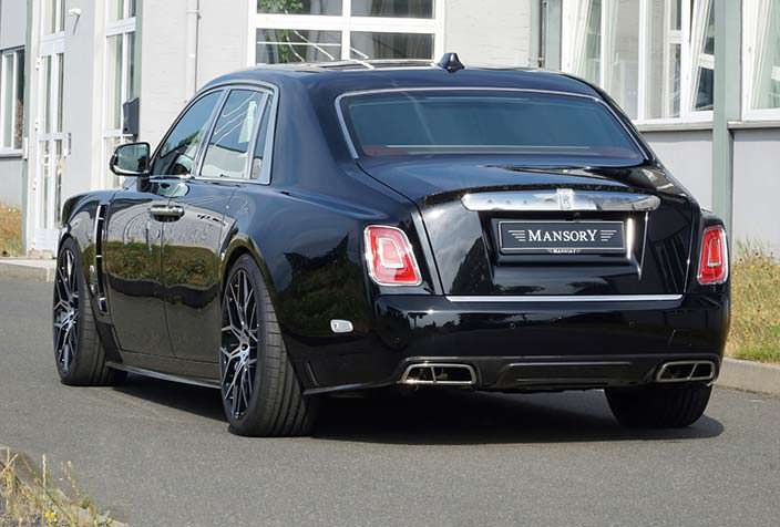 Тюнинг Rolls-Royce Phantom VIII от Mansory