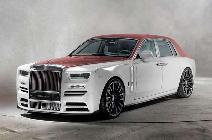 Лимузин Rolls-Royce Phantom VIII. Тюнинг от Mansory