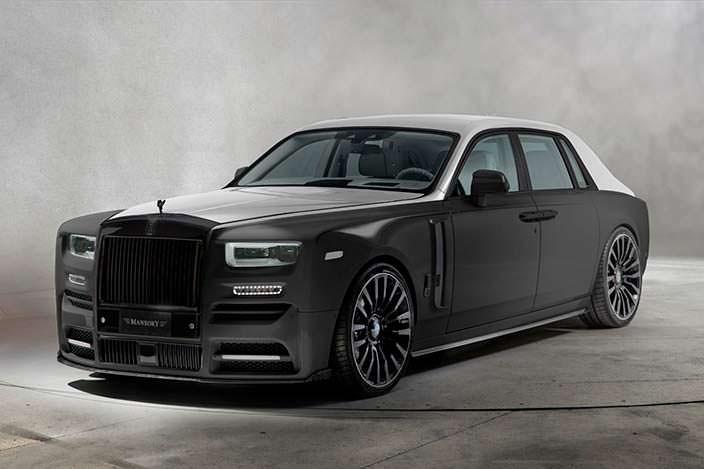 Новый Rolls-Royce Phantom VIII. Тюнинг от Mansory