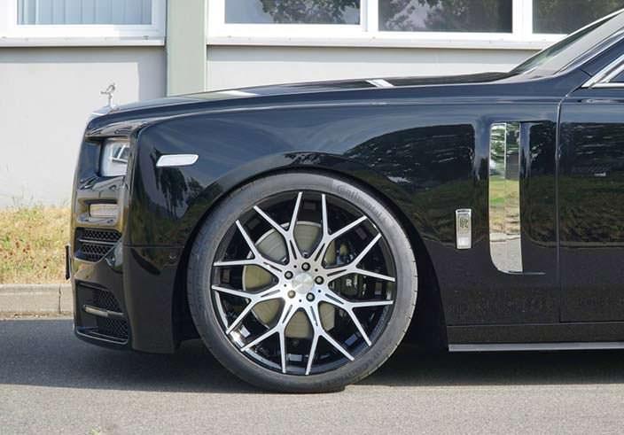Колеса Rolls-Royce Phantom VIII. Тюнинг от Mansory